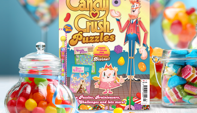 Puzzler Media Ltd launches Candy Crush Puzzles
